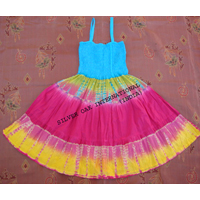 Smocked Tube Dress