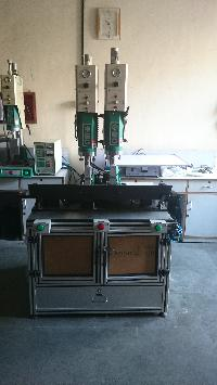 Multihead Ultrasonic Plastic Welding Machine