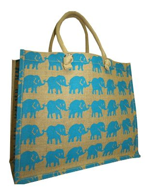 KE0075 - Jute Shopping Bag