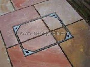 Recessed GI Manhole Cover
