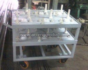 Washing Trolley For Gear Plant