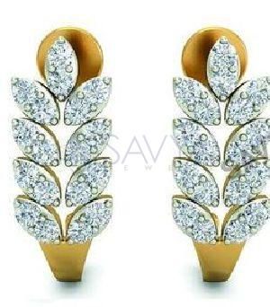 21 Diamond Earring