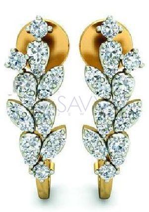 6(1) Diamond Earring