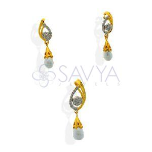 DPS09 Diamond Pendant Set