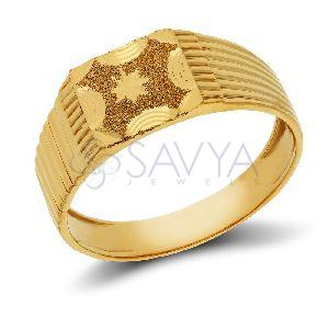 GR02_Gold Gents Ring
