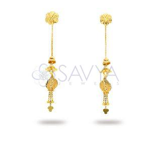 RFT02 Gold Rajkot Earring