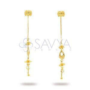 RFT03 Gold Rajkot Earring