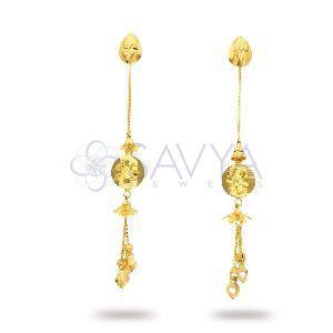 RFT05 Gold Rajkot Earring