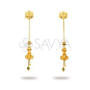 RFT06 Gold Rajkot Earring