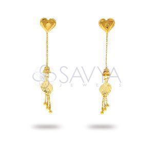 RFT08 Gold Rajkot Earring