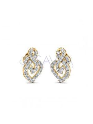 SJ DTS33 Diamond Earring