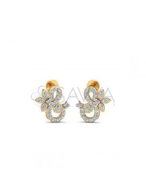 SJ DTS35 Diamond Earring