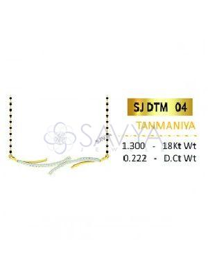 SJDTM 04 Diamond Pendant