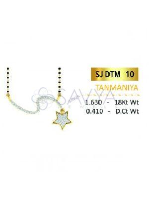 SJDTM 10 Diamond Pendant