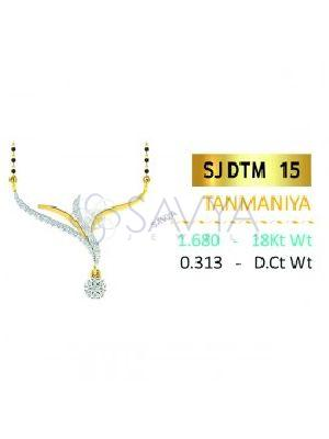 SJDTM 15 Diamond Pendant