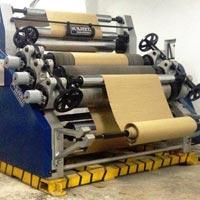 Oblique Single Face Paper Corrugating Machine