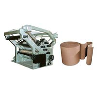 Double Profile Paper Corrugation Machine