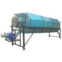 Cylindrical Screening Machine