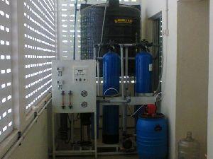 500 LPH Reverse Osmosis Plant