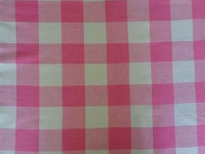 100% Cotton Yarn Dyed Woven Check Fabric