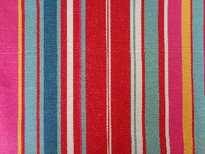 100% Cotton Yarn Dyed Woven Striped Fabric