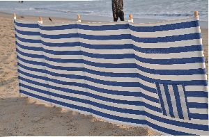 Beach Windbreaks With Matching Drawstring