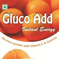 Orange Flavour Glucose Powder