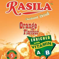 Orange Instant Drink Mix (Rasila)
