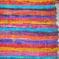 Sari Silk Ribbon Rugs