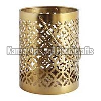 Brass Hurricane Lamp