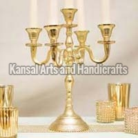 Brass Table Candle Holder