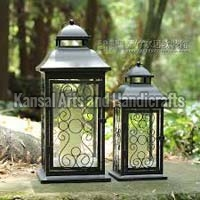 Iron Hurricane Lamp