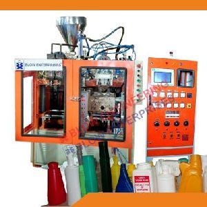 Twin Cavity Auto Deflashing Blow Molding Machine 01
