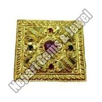 Gold Plated Yantra