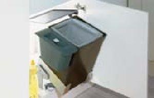 Waste Systems Behind Hinged Doors