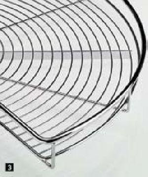 Semi-circular Carousel Shelves