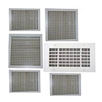 Double Deflection Adjustable Grilles