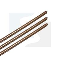 Solid Copper Earthing Rods