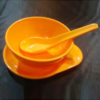 Microwave Acrylic Soup Bowl Set