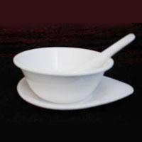 Round Acrylic Soup Bowl Set