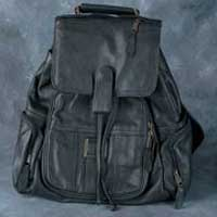 Leather Backpack Bag 002