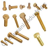 Hexagonal Brass Bolts