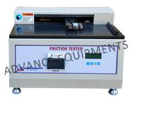 Static & Kinetic Coefficient Of Friction Tester - Digital With Printer