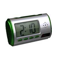 Table Clock Spy Camera
