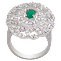 925 silver coctail ring