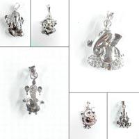925 silver ganpati bapa pendant
