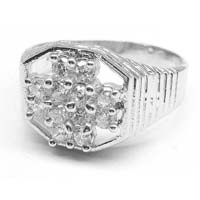 925 silver gents ring