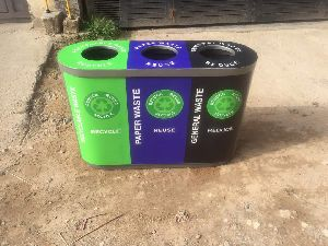 Colour Coded Dustbin Trio 40L