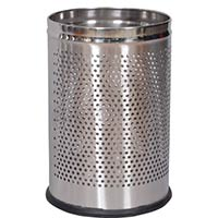 Stainless Steel Perforated Dustbins