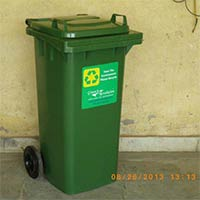 Wheeled Dustbin 120 Litres